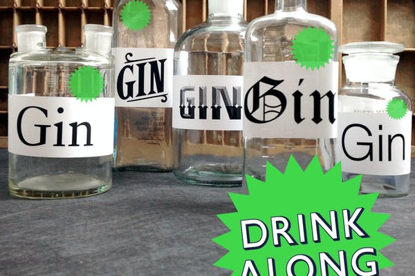Online Christmas party: G&T (gin & type tasting)