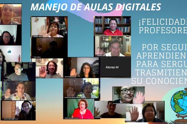 MANEJO DE AULAS DIGITALES