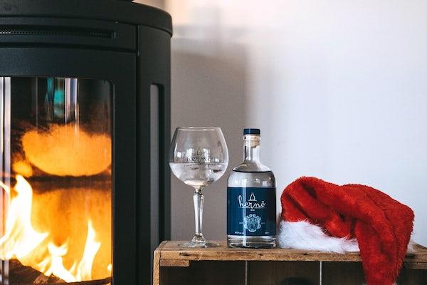 Traditionsenlig jultallrik hos Hernö Gin
