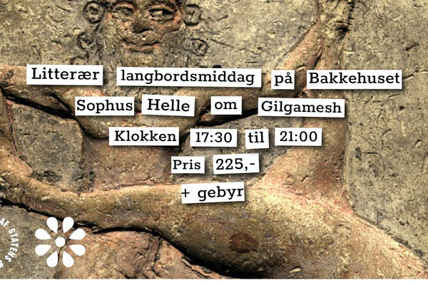 Litterær langbordsmiddag – Gilgamesh