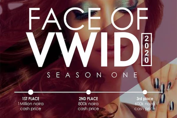 FACE OF VWID 2020 BEAUTY PAGEANT