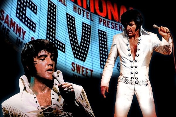ELVIS The Rebel coming back... Elvis show musik and talkshow