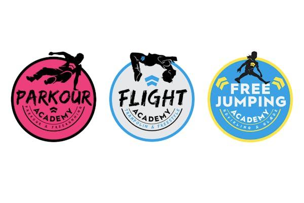 Flight, Free Jumping og Parkour Academy
