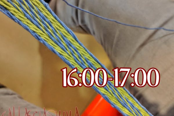 Taller: Tablet Weaving (16:00-17:00)