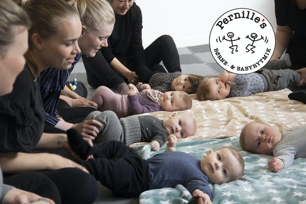 Babyrytmik på Islands Brygge Bibliotek