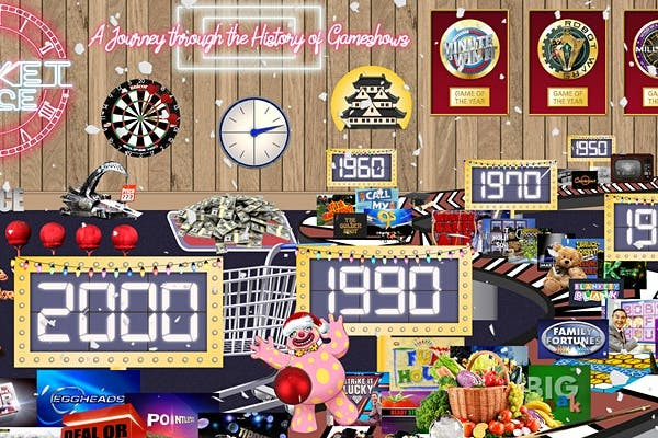 A Christmas Journey Through the History of Gameshow