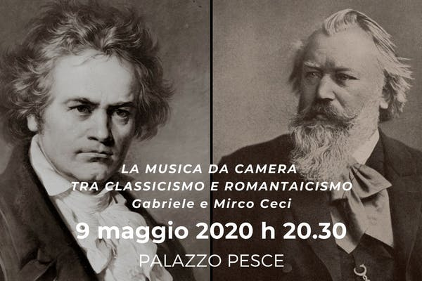 La Musica da camera fra classicismo e romanticismo [Musiche di Beethoven e Brahms]
