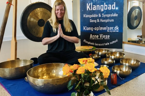 Frederiksberg: 3 timer Gong og klangbads forkælelse v/Anne Viese
