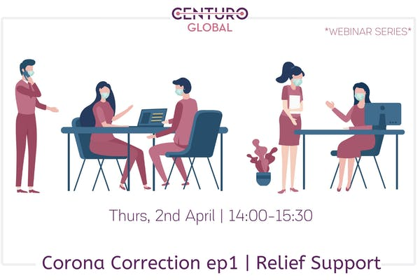 Corona Correction For Startups - Relief Support [webinar]