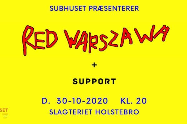 Subhuset x Red Warszawa
