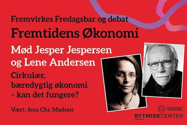 Fremvirkes Fredagsbar og debat med Jesper Jespersen