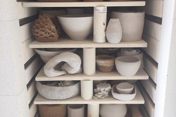 10-ugers grundkursus i keramik v. Stine Jespersen