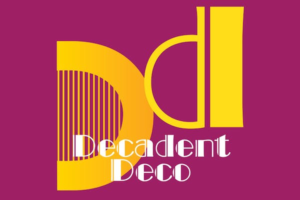 'Decadent Deco' - Typography Life Drawing