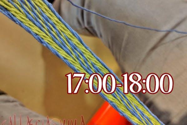 Taller: Tablet Weaving (17:00-18:00)