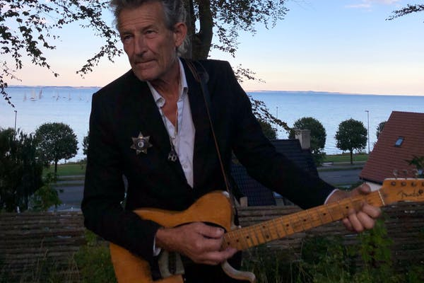 Havekoncert hos Peter Viskinde i anledning af Bob Dylans 80 års fødselsdag