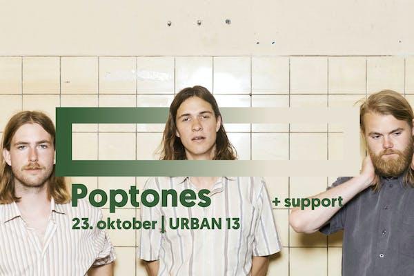 Poptones + support: Quiet Sonia | URBAN 13