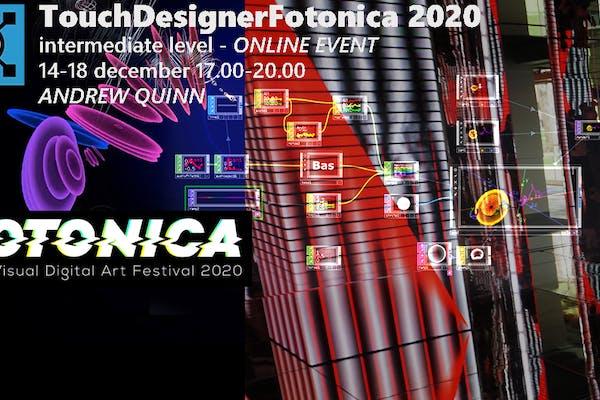 TouchDesigner Fotonica2020