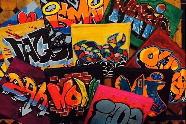 Graffitikursus for børn