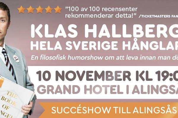 Hela Sverige hånglar med Klas Hallberg