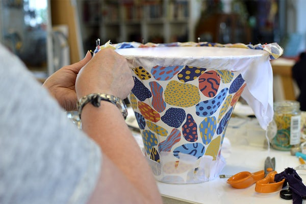 Traditional Lampshade Making Course
