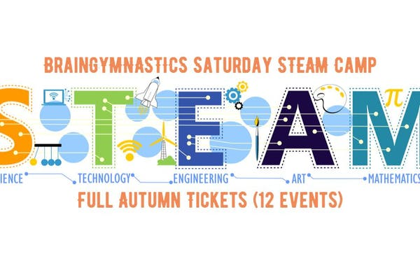 BrainGymnastics Saturday STEAM Camp - Full Autumn Term (12 Events)