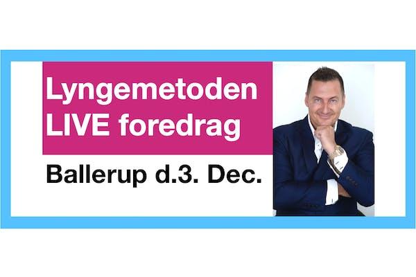 Lyngemetoden foredrag med Søren Lynge Ballerup