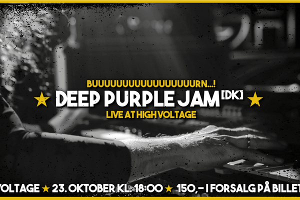 ★ DEEP PURPLE JAM @ HIGH VOLTAGE ★