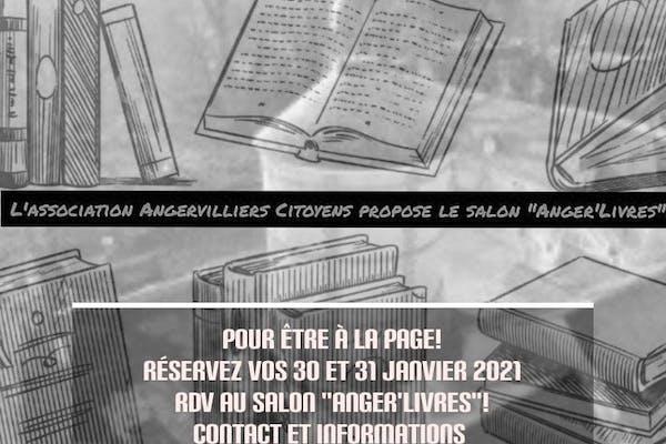 """""""Anger'Livres"""" le salon du livre et de l'illustration d'Angervilliers"""