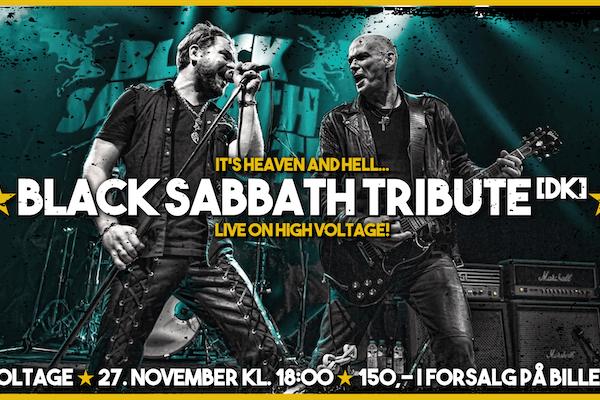 ★ BLACK SABBATH TRIBUTE [DK] @ HIGH VOLTAGE ★