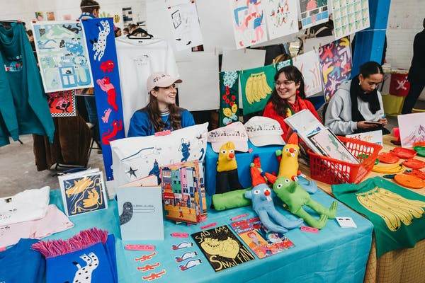 DIY Christmas Art Market