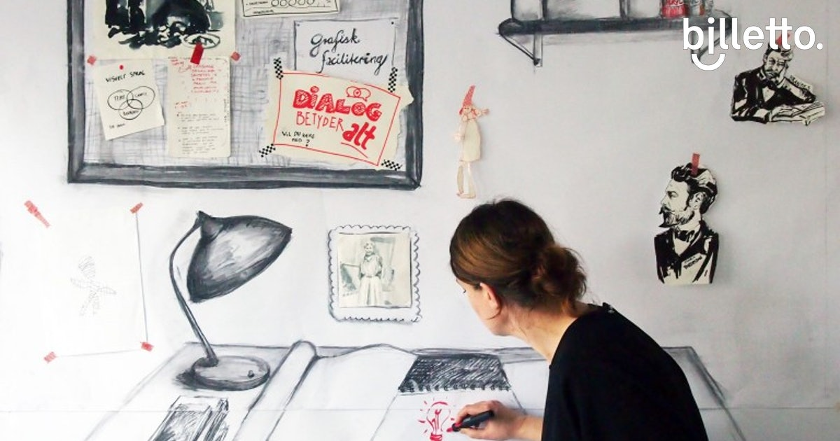 Tegninger: Tegning Af Billetter