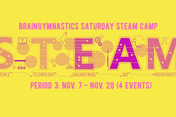Period 3 of BrainGymnastics Saturday STEAM Camp