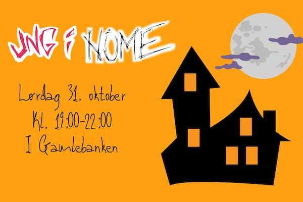 Halloween-klubb i Gamlebanken