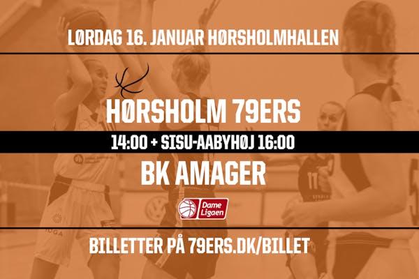 Dameligaen Dobbeltkamp: Hørsholm vs. BMS Herlev + SISU-Aabyhøj