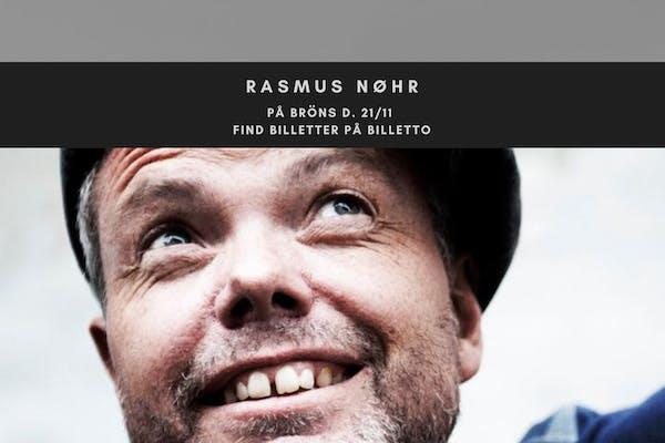 Eksklusiv intimkoncert med Rasmus Nøhr på BRÖNS