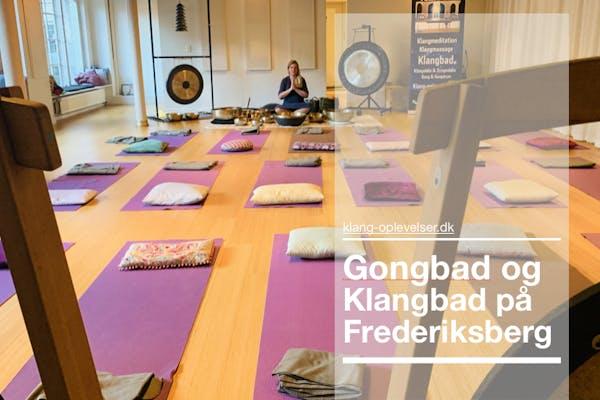 Frederiksberg: Gong og Klangbad v/Anne Viese