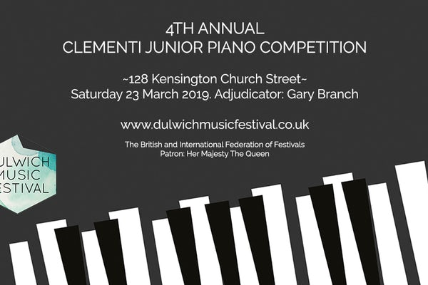 Clementi Junior Piano Competition: Class 2 (Grades 2 & 3) ~ SOLD OUT