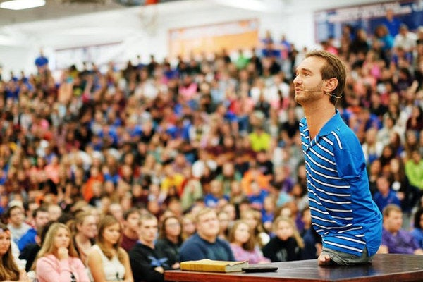 Mød verdens mest inspirerende mand Nick Vujicic (Life without Limits)