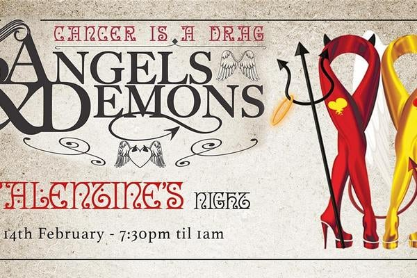 Angels &Demons Valentines Dinner & Dance