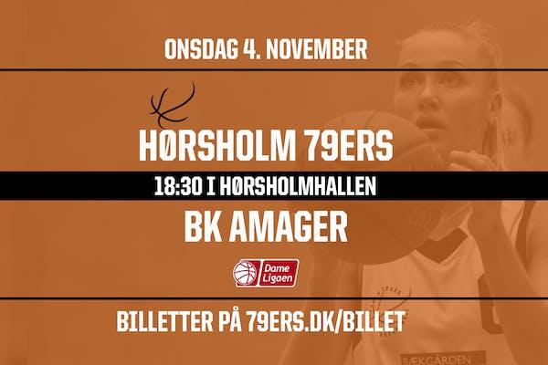 Dameligaen: Hørsholm 79ers vs. BK Amager