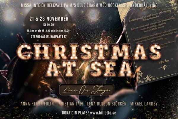 Dinner show på Blue Charm - Christmas at sea