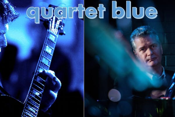quartet blue Feat. Nigel Price - Livestream