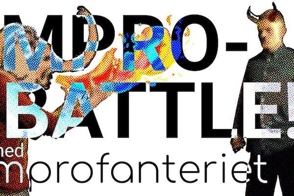 Impro på Trykkeriet // Battle med improfanteriet & gjester