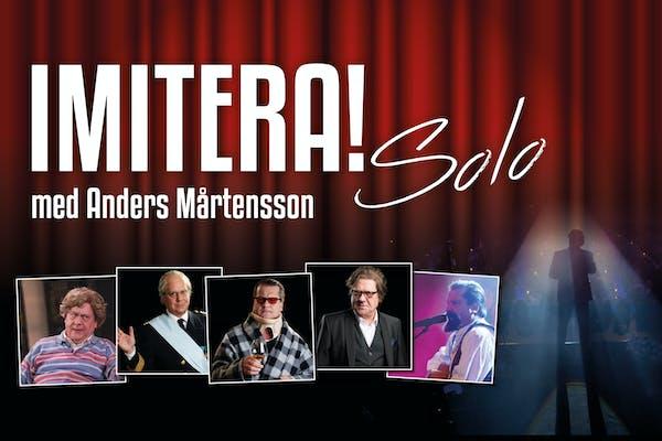 Imitera!-solo med Anders Mårtensson