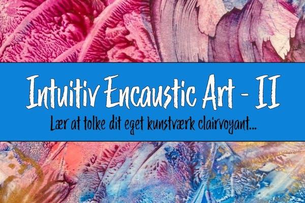 Intuitiv Encaustic Art workshop i Asnæs