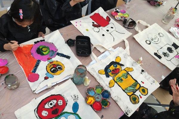 Skrotrobot-muleposer / Weekend for børn