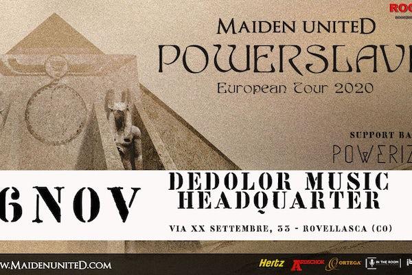 MAIDEN UNITED - POWERSLAVE TOUR 2020