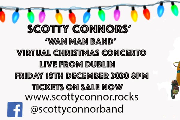 Scotty Connor Wan Man Band Virtual Christmas Concerto