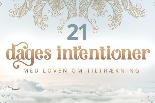 21 dages intentioner med Loven om Tiltræking ( 21 dages online forløb) NOVEMBER 2020