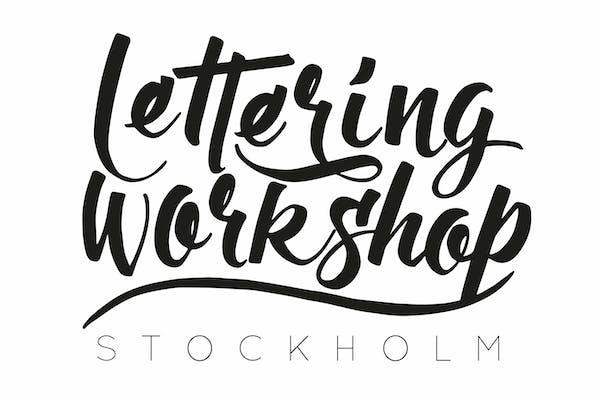 Lettering Workshop (5h) grundkurs - Stockholm